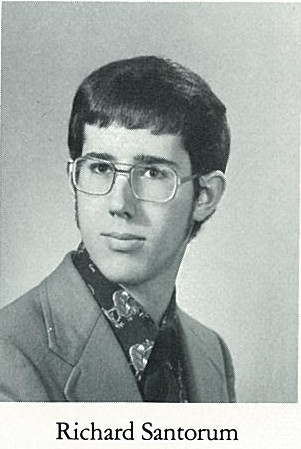 Young Rick Santorum