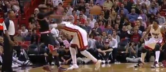 Wade shoves Rip