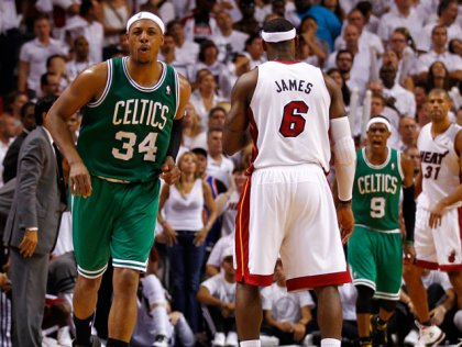 Paul Pierce game 5 three-pointer